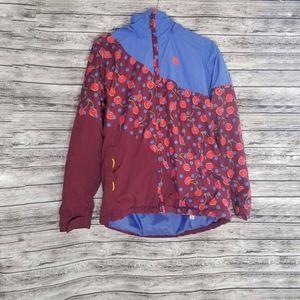 Burton Cherries Hart JK Periwinks Block Coat XL